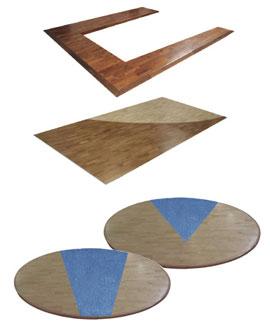Custom hardwood flooring options