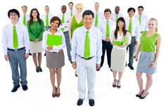 Happy Green Staff