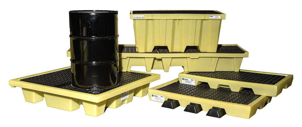Military Spill Pallets, Platforms and Workstations
