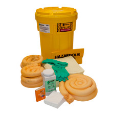 30 Gallon Overpack Salvage Drum Spill Kit - Aggressive