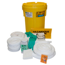 30 Gallon Overpack Salvage Drum Spill Kit - Oil Only