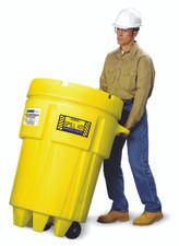 ENSORB 95 Gallon Wheeled Salvage Drum Spill Kit - Oil Only