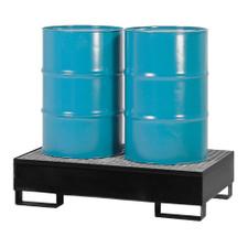 2-Drum Economy Steel Pallet - Black Diamond (9002-BD)