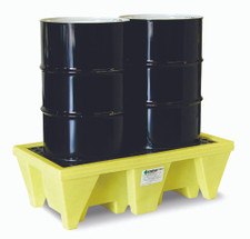 2 Drum Spill Pallet In Use