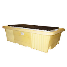 Double IBC Tote Spill Pallet