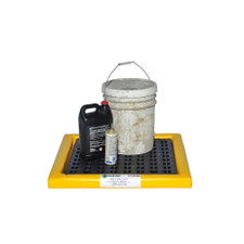 """2'x4'x2"""" - Poly-Spillpad With Grate"""