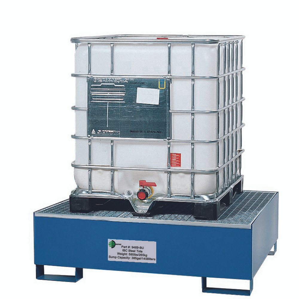 IBC Tote Steel Spill Containment Pallet | Spill Containment