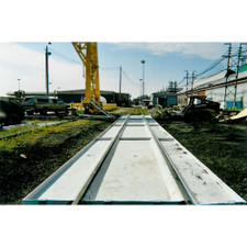 Railcar Track Pan - Outrigger Pan