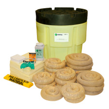 65 Gallon Poly-SpillPack Spill Kit - Aggressive (1461-YE)