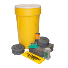 55 Gallon Universal Spill Kit with Lever Lock Ring