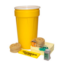 55 Gallon Aggressive Spill Kit with Lever Lock Ring