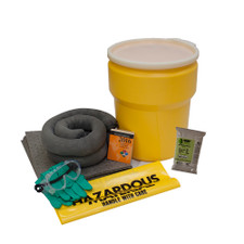 10 Gallon Universal Spill Kit with Lever Lock Ring