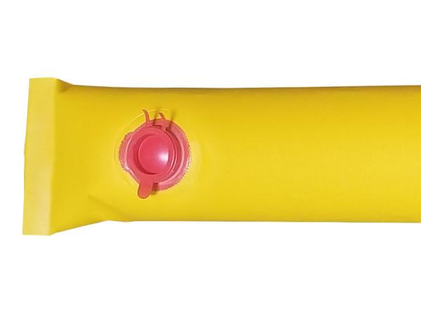 Water-Filled Diverter - End Close-Up