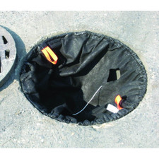 Storm Sentinel Catch Basin Insert - Round Steel Frame - Bag Version - 4340