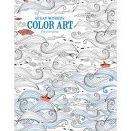 Leisure Arts,Color Art, Ocean Wonders, 24 pages, Scrapify, Australia
