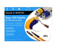 Daler Rowney A4 Tear Off Palette, for oils and acrylics, 40 pages, Scrapify, Australia