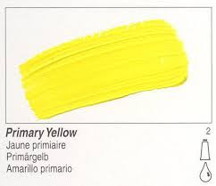 Golden, Fluid Acrylics, Artist Quality, Primary Yellow, 2422, 4 fl.oz, Scrapify, Australia