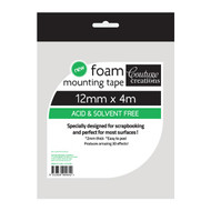 Couture Creations, foam mounting tape, 12mm x 4m, Scrapify, Australia