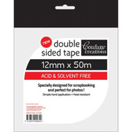 Couture Creations, Double sided tape,12mm x 50m, Scrapify, Australia