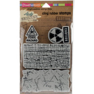Andy Skinner, Stampendous  Cling Stamps, Toxic 4 pc, Scrapify, Australia