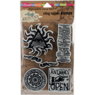 Andy Skinner, Stampendous  Cling Stamps, Curiosity, 6 pc, Scrapify, Australia