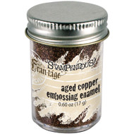 Stampendous Frantage, Aged Copper Embossing Powder, 19g, Scrapify, Australia