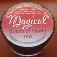 Lindy's Stamp Gang - Pigment Powders - Magicals - queen of hearts red, Scrapify, Australia