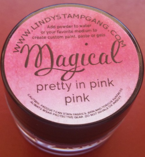 Lindy's Stamp Gang - Pigment Powders - Magicals - pretty in pink, Scrapify, Australia