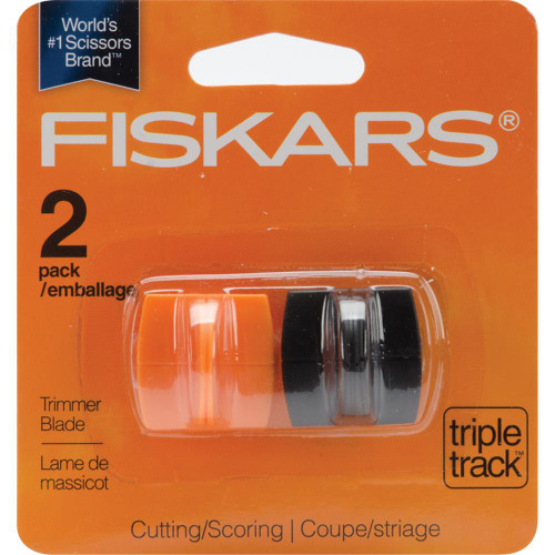 Fiskars TripleTrack High-Profile Replacement Blades 2/Pkg, Scrapify, Australia