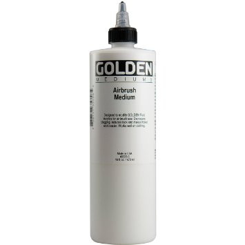 Golden Airbrush Medium 16oz 473mls, Scrapify, Australia