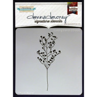 Donna Downey Signature Series Stencils - Budding Branch