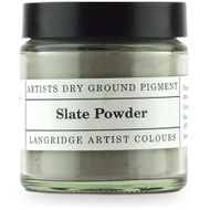 Langridge Dry Ground Pigment 120ml - Slate, Scrapify, Australia
