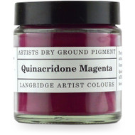 Langridge Dry Ground Pigment 120ml - Quinacridone Magenta, Scrapify, Australia