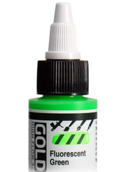 Golden, High Flo Acrylics, Artist Quality, Fluorescent Green, 1fl oz, Scrapify, Australia