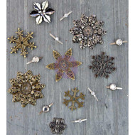 Prima, Finnabair, Mechanicals, Metal Embellishments, Winter Trinkets, Scrapify, Australia