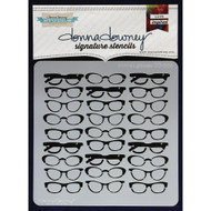Donna Downey Signature Series Stencils - Donna's Glasses