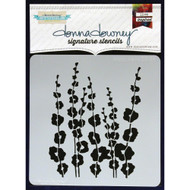 Donna Downey Signature Series Stencils - Poppy Stems