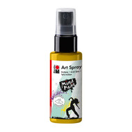 Marabu Art Spray 50ml - Sunshine Yellow, Scrapify, Australia