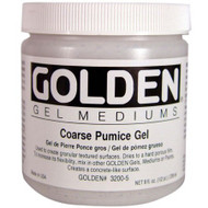 Golden Gel Medium, Coarse Pumice Gel, 8oz Jar , Scrapify, Australia