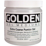 Golden Gel Medium, Extra Coarse Pumice Gel, 8oz Jar, Scrapify, Australia