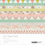 Kaisercraft  6.5in, Paper Pad, Bow and Arrow, Design paper, 40 Page Pad, 2x12 sheets Designed Paper, 12xSpecialty Papers, 4xDie Cut Pages, Scrapify, Australia