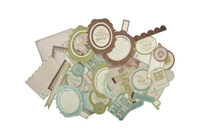 Kaisercraft  Collectables, Heirloom, Die Cut Shapes over 50 pcs, Scrapify, Australia