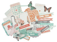 Kaisercraft  Collectables, Die cut shapes, Dream Big,  over 50 pcs, Scrapify, Australia