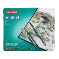 Derwent Artists Pencils, 24pk Tin, Scrapify, Australia