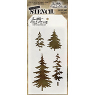 Tim Holtz Stampers Anonymous - Layering Stencils - Woodland, Scrapify, Australia