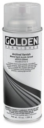 Golden Archival Varnish Gloss 400ml,  Spray Can, Scrapify, Australia