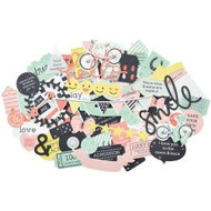 Kaisercraft  Collectables, Die cut shapes, over 50 pc  Daydreamer, Scrapify, Australia