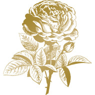 COUTURE CREATIONS, GoPress and Foil, Anna Griffin Foil Stamp Die, Classic Rose, 82.5 x 88.9mm, Scrapify, Australia