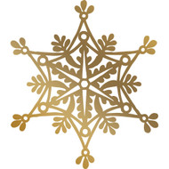 COUTURE CREATIONS, GoPress and Foil -Anna Griffin Foil Stamp Die, Hotfoil, 70.8 x 80 mm, Snowflake, Scrapify, Australia