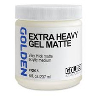Golden Extra Heavy Gel Matte 8oz 236mls, Scrapify, Australia